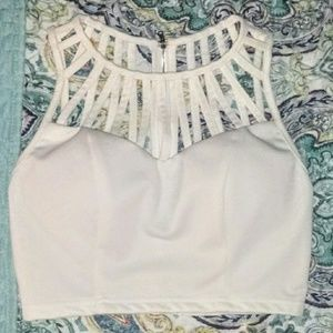 Caged Neck crop tank 5 for $25 Deal